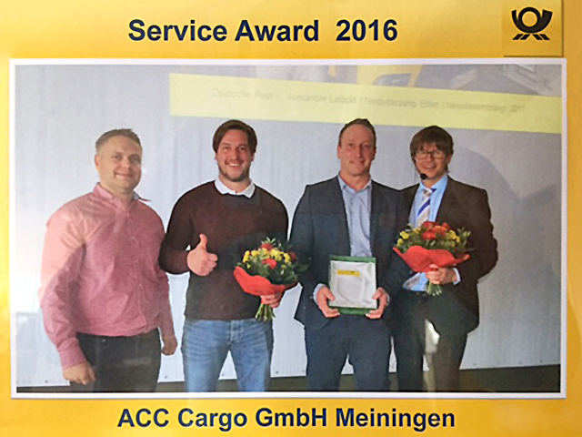Deutsche Post Service Avard 2016