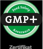 Logo GMP+-Zertifikat - Feed Safety Assurance