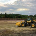 Bau der neuen Logistikhalle der STL Südthüringen