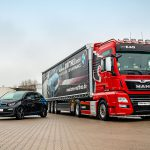 Mit Performance zuverlässig ans Ziel - Neuer LKW-Trailer in Zusammenarbeit mit dem BMW Autohaus Matthes